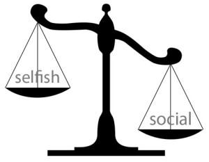 selfish social scales